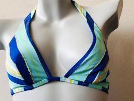 Türkis/Blaues Triangel-Bikinitop von SI e LEI. / Größe 80 B
