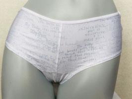 Weiße Shorts mit Print, von Marlies Dekkers  / Größe M
