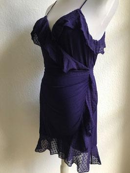 Violettes Wrapdress von Marjolaine