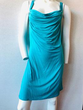 Türkisfarbenes Trägerkleid mit Nieten, von Aubade