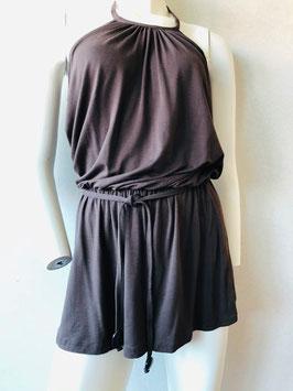 Schokobraunes Halterneck-Dress von Aubade / Größe S