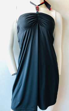 Schwarzes Halterneck-Kleid von Aubade