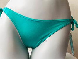 Meergrünes Triangel-Höschen von Nicole Olivier / Größe 38