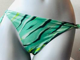 Grün gemusterter Triangel-Slip von RCrescentini  / Größe 38