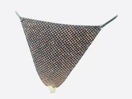 Bronzefarben gemusterter String von Christies