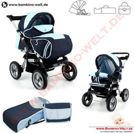 Kubi - Buggy, Sportwagen mit Kinderwagenaufsatz
