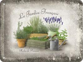 Blechschild Herbes