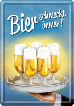 Bier schmeckt immer!