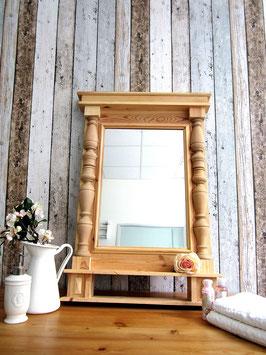 Belana - Handgefertigter Säulen-Spiegel in Wunschlackierung