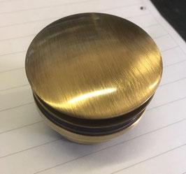 Pop-Up Bronze - Ablaufventil Ablaufgarnitur Push open Antik-Messing für Waschbecken