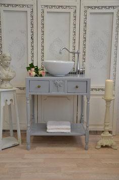 """""""Pearl"""" Vintage Waschtisch, Waschtischunterbau inkl. Becken"""