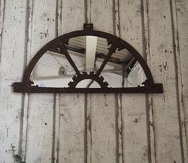 "VERKAUFT! Antiker Stahlfenster-Spiegel ""Askjell"""