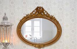 "VERKAUFT!  Antiker Spiegel ""Fragil"""