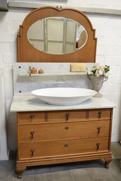 VERKAUFT Lévré   H: 73,5 cm + 105 cm Spiegelaufsatz  B: 106 cm T: 60 cm - Unaufgearbeitet & Individualisierbar