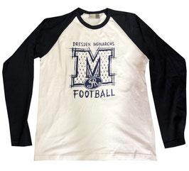 "Monarchs Langarm Shirt ""Kritzel M"""
