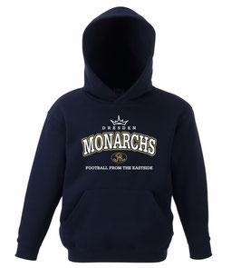 """Monarchs Hoodie """"Oldstyle"""""""