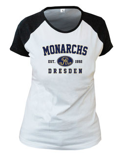 "Monarchs Damen T-Shirt ""Classic"" weiß"