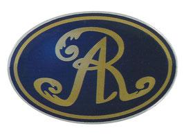 Monarchs Logo-Aufkleber plastisch