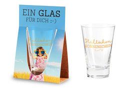 Ein Geschenk für Dich;-)Glas