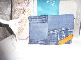 DAVIDKA : pochette tout jean (2)