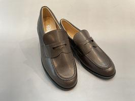 ST2189 (22.5~26.0)ダークブラウン 柔らかい、痛くない、履きやすい、ローファー通学靴