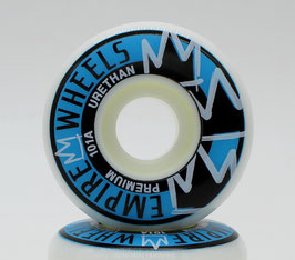 EMPIRE Classics White/Blue Wheels (different sizes available)