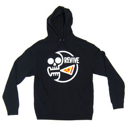 Revive - Pizza Skull Pullover Hoodie