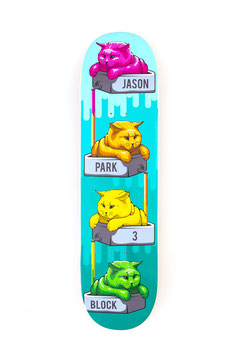 3 Block - Jason Park Stacks of Cats Deck