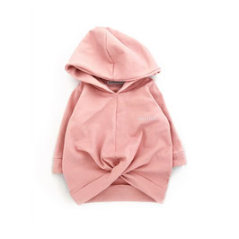 OH LOVE. Wrap Hoodie | Smokey Rose.
