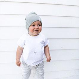 Some Shirts? Small Print ALOHA | White.
