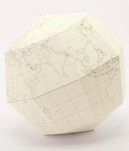 Papier-Globus Blank