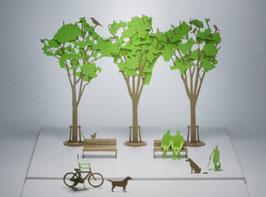 TERADA MOKEI - Papiermodell Street Tree