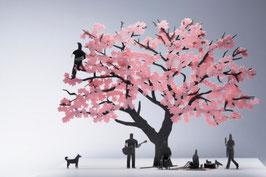 TERADA MOKEI - Papiermodell Kirschblüte