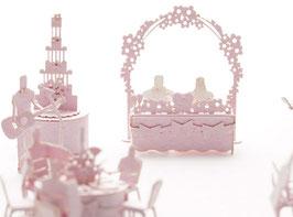 TERADA MOKEI - Papiermodell Hochzeit/ Kapelle