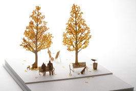 TERADA MOKEI - Papiermodell Ginko Baum