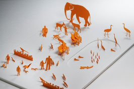 TERADA MOKEI - Papiermodell Zoo