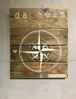 Altholzschild [Kompass]