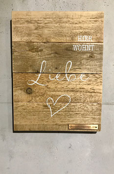 Altholzschilder [Echte Liebe]