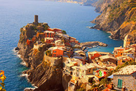 COMBO FLAVORS OF TUSCANY THE ENCHANTING CINQUE TERRE & SORRENTINE PENINSULA - From ROME