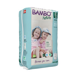 BAMBO NATURE PANTS TAILLE 6 +18KG