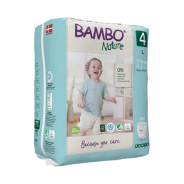 BAMBO NATURE PANTS TAILLE 4 7/14 KG