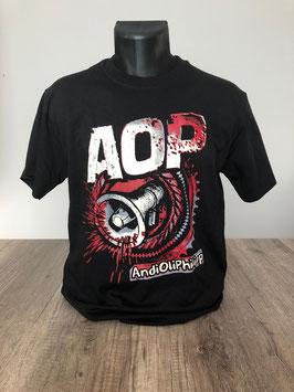 T-Shirt Megafon Zahnrad