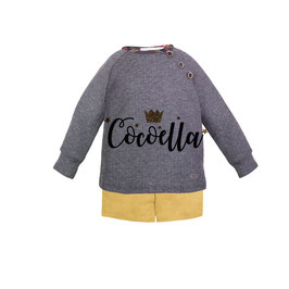 SUDADERA GRIS ESCOCES 3617SU EVE CHILDREN