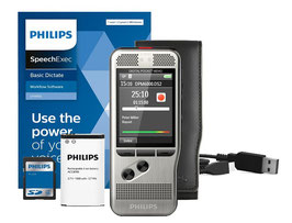 Philips DPM 6000 Digitale Memorecorder met SpeechExec Basic