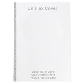 Unibind Uniflex Covers Silver