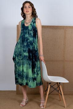 Batikkleid ohne Arm