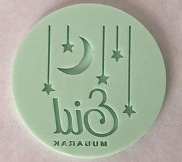 Eid Mubarak Fondant Stempel