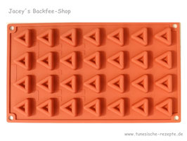 Silikonform Dreieck