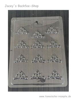 Schokoform Dreieck orientalisch