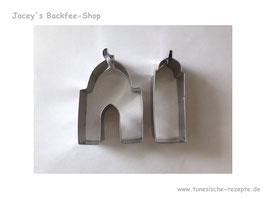 Ausstechform Moschee Set